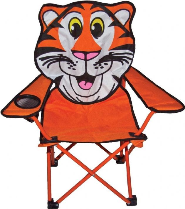 Sunncamp Childrens Camping Chair - Tiger - Grasshopper Leisure, Kids camping equipment